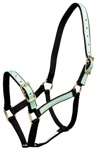 Overlay Headstall Black & Mint