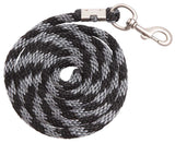 Lead Braided Nylon Rope black and silver