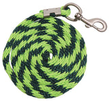 Lead Braided Nylon Rope lime and green
