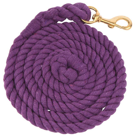 Lead Cotton Large Brass Snap purple