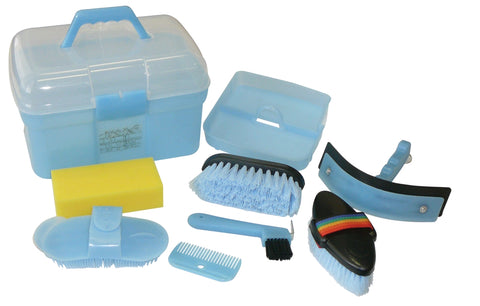 8 Piece Grooming Box Blue