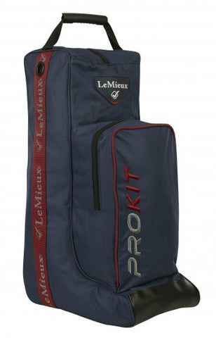 LeMieux Show Kit Boot & Hat Bag Navy