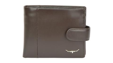 RM Williams Wallet Coin Pocket Brown with Tab