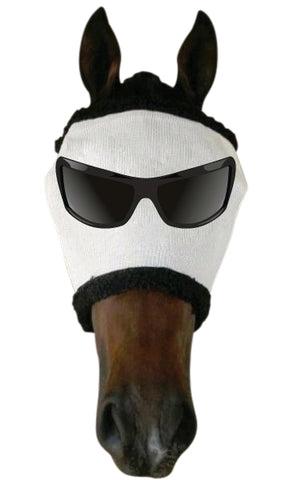 Flymask Mr Cool White