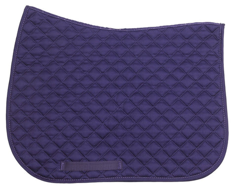 Basic All Purpose Saddlecloth Purple