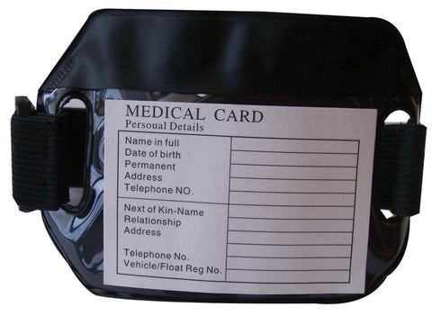 Medical Armband and Card