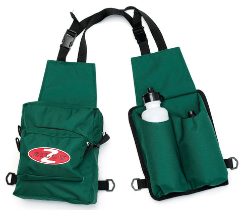 Saddle Bag Double with Drink Bottle