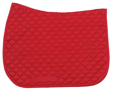 Basic All Purpose Saddlecloth Red