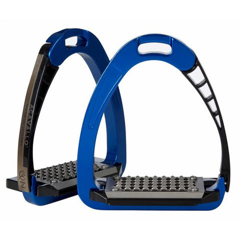 Arena Safety Blue Stirrup Irons
