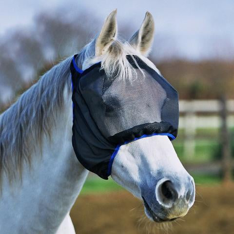 Equilibrium Fly Mask Midi No Ears Black