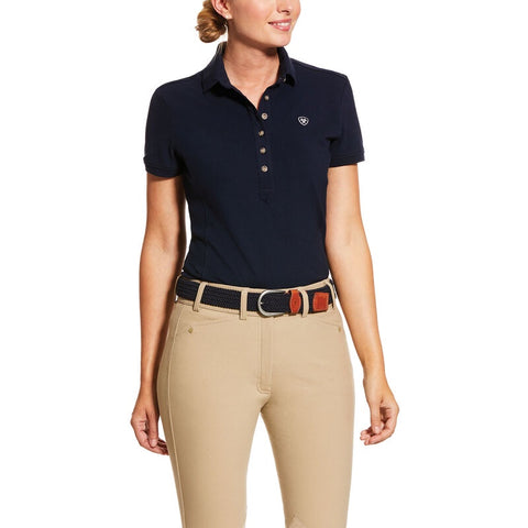 Ariat Ladies Prix 2.0 Polo Navy