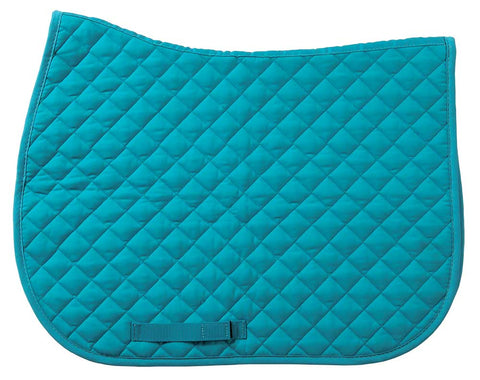 Basic All Purpose Saddlecloth Turquoise