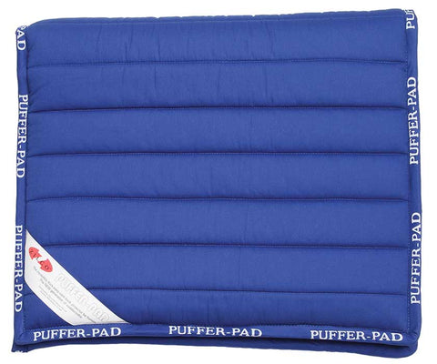 Puffer Pad Long Royal Blue