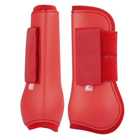 Horze Tendon Boots Flame Scarlet