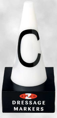 Dressage cones set of 8