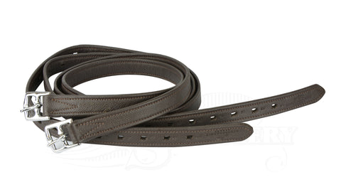 Schockemohle Colorado Soft Sports Stirrup Leathers expresso brown