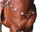 Silver Stud Breastplate