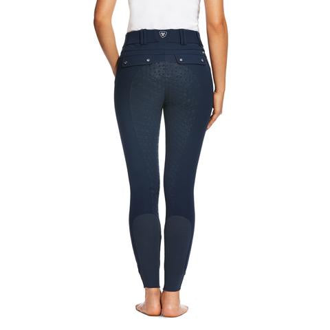 Ariat Womens Tri Factor Grip Breeches Navy