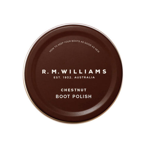 RM Williams Polish chestnut