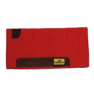 Horse Master Felt Lined Canvas Pad Red