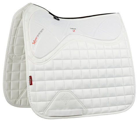 LeMieux X Grip Dressage Square Pad White