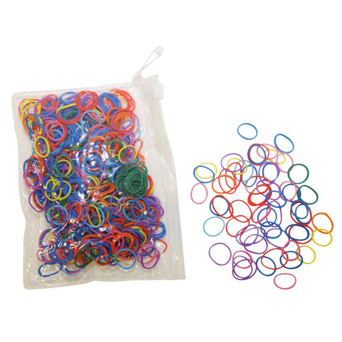 Mane Braid Rubber Bands Rainbow