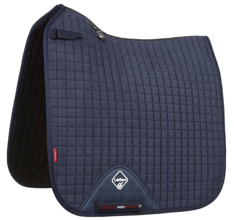 LeMieux Luxury Dressage Pad Navy