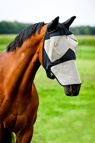 Horze Long Nose Fly Mask Hood