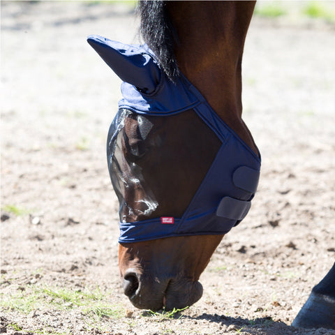 Horze Cayman Fly Mask Navy