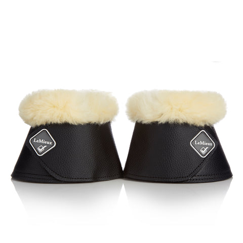 LeMieux Wrap Around Bell Boot with Sheepskin
