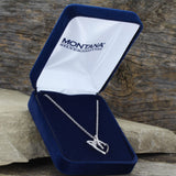 Montana Silver Petite Heart Tied in a Bow Necklace