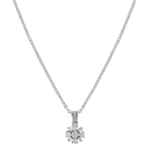 Montana Simply Brilliant Flower Necklace