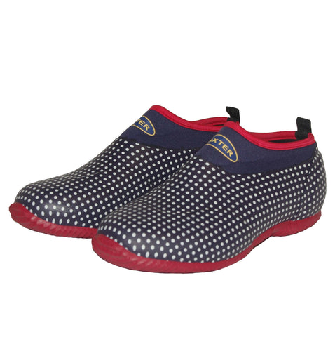 baxter slushy shoe polka dot
