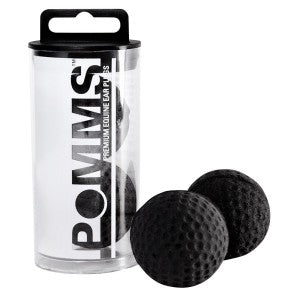 Pomms Premium Equine Ear Plugs Black