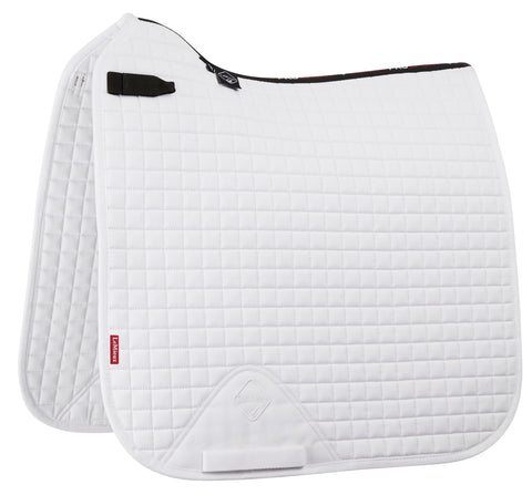 LeMieux Pro Sport Plain D Ring Dressage Pad White