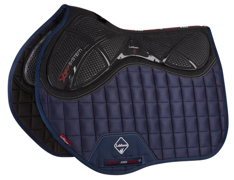 LeMieux X Grip Twin Side Jump Pad Navy
