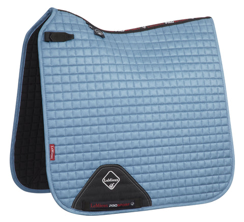 LeMieux Luxury Dressage Pad Ice Blue