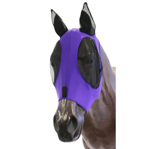 Kool Master Lycra Pull On Fly Mask Purple