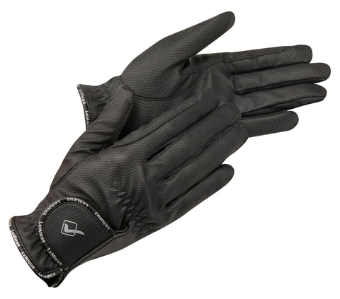 LeMieux Pro Touch Classic Riding Gloves Black