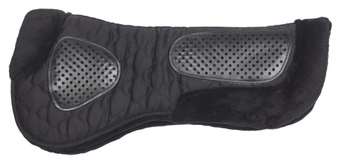 Fleece Gel Half Pad Black
