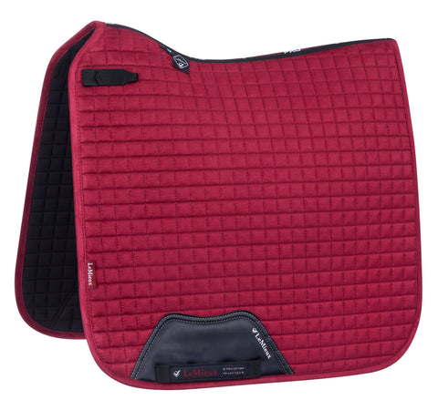 LeMieux Luxury Dressage Pad Mulberry