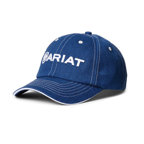 Ariat Uni Team II Cap Heather Blue and White
