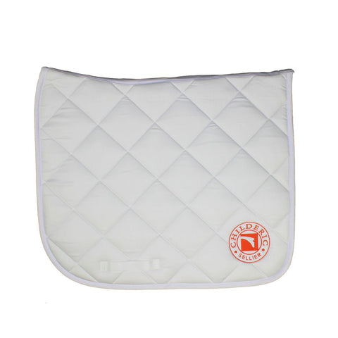 Luc Childeric Dressage Saddlecloth White
