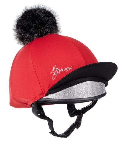 LeMieux Hat Silk Chili Red