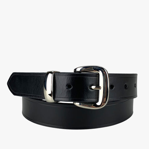 Porter Leather 1.25 Dress Belt Black