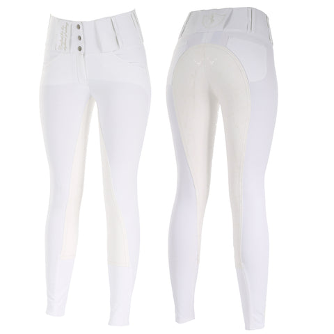 Horze Desiree Ladies Breeches White