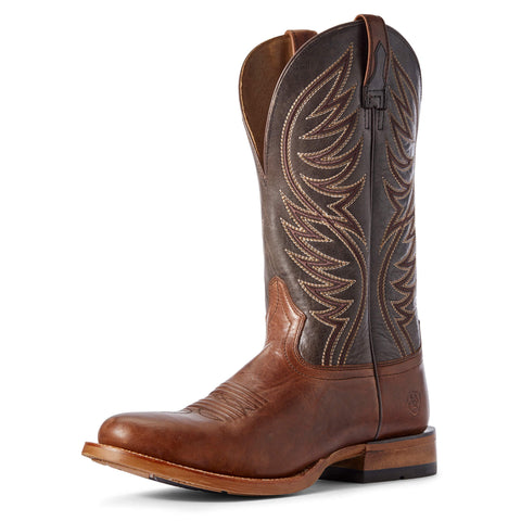 Ariat Slick Fork Mens Boots Red Brown & Cacao