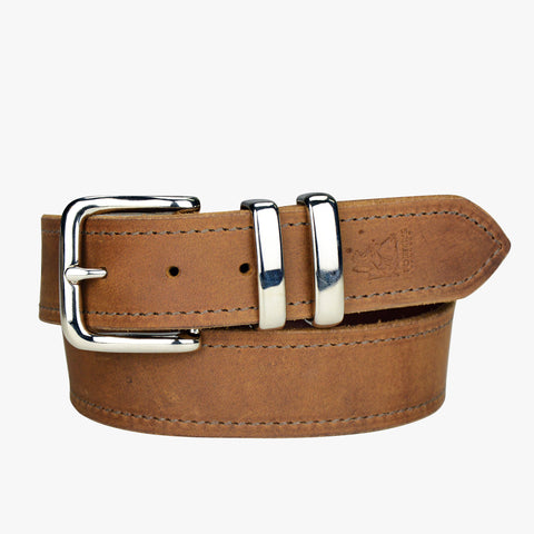 Porter Leather Gold Belt