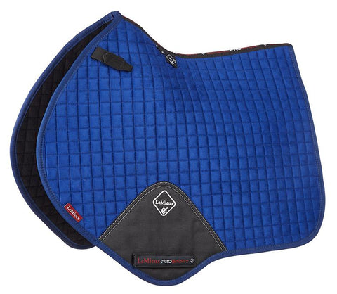 LeMieux Luxury Close Contact Pad Benetton Blue