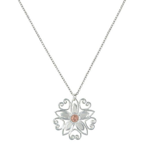 Montana Necklace Star Flower Love